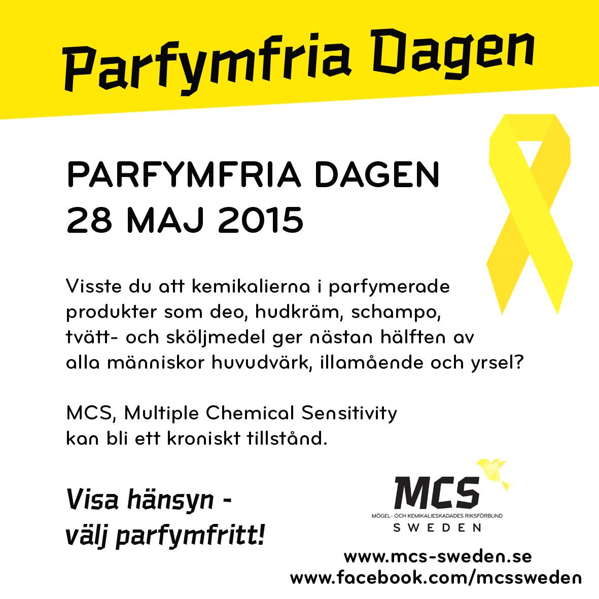 Parfymfria Dagen